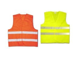 chaleco reflectivo baliza seguridad reglamentario fluo