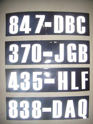 chaleco reflectivo reglamentario moto + 4 calcos p/casco