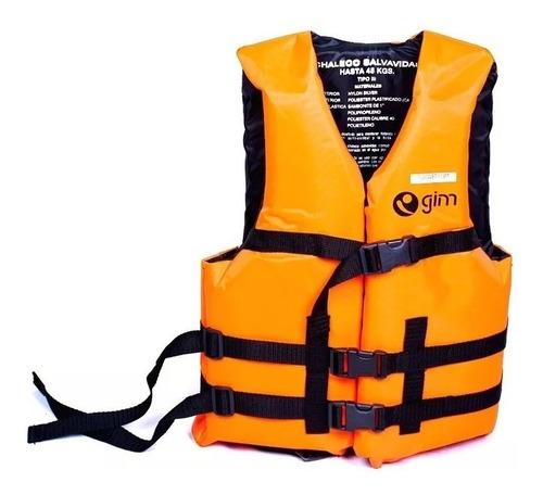 chaleco salvavidas adulto profesional hasta 60 kg + envio gratis