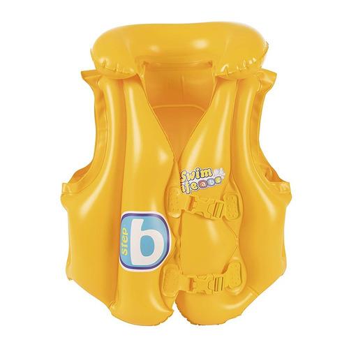 chaleco salvavidas infantil inflable para niños 3 a 6 años