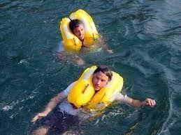 chaleco salvavidas inflable tipo ii costero