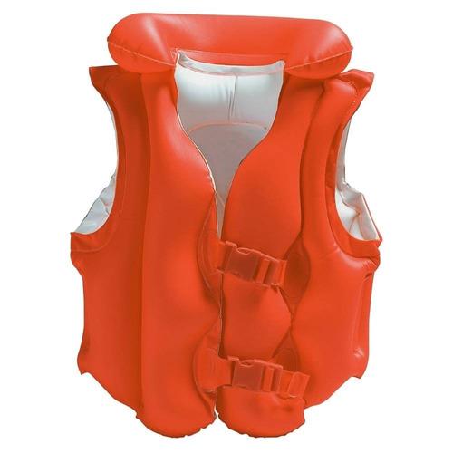 chaleco salvavidas inflamable para niños intex