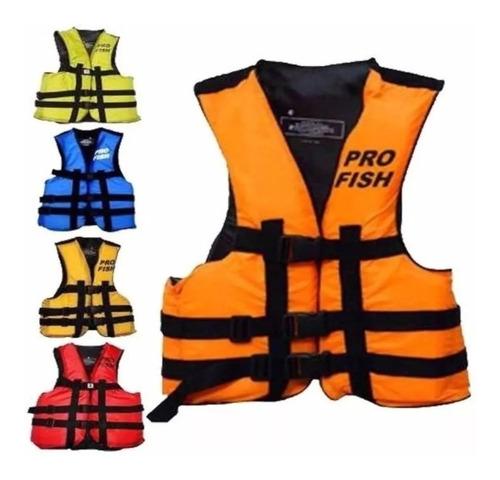 chaleco salvavidas pro fish aquafloat pro fish todos talles