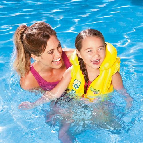 chaleco salvavidas step b swim safe bestway (6636)