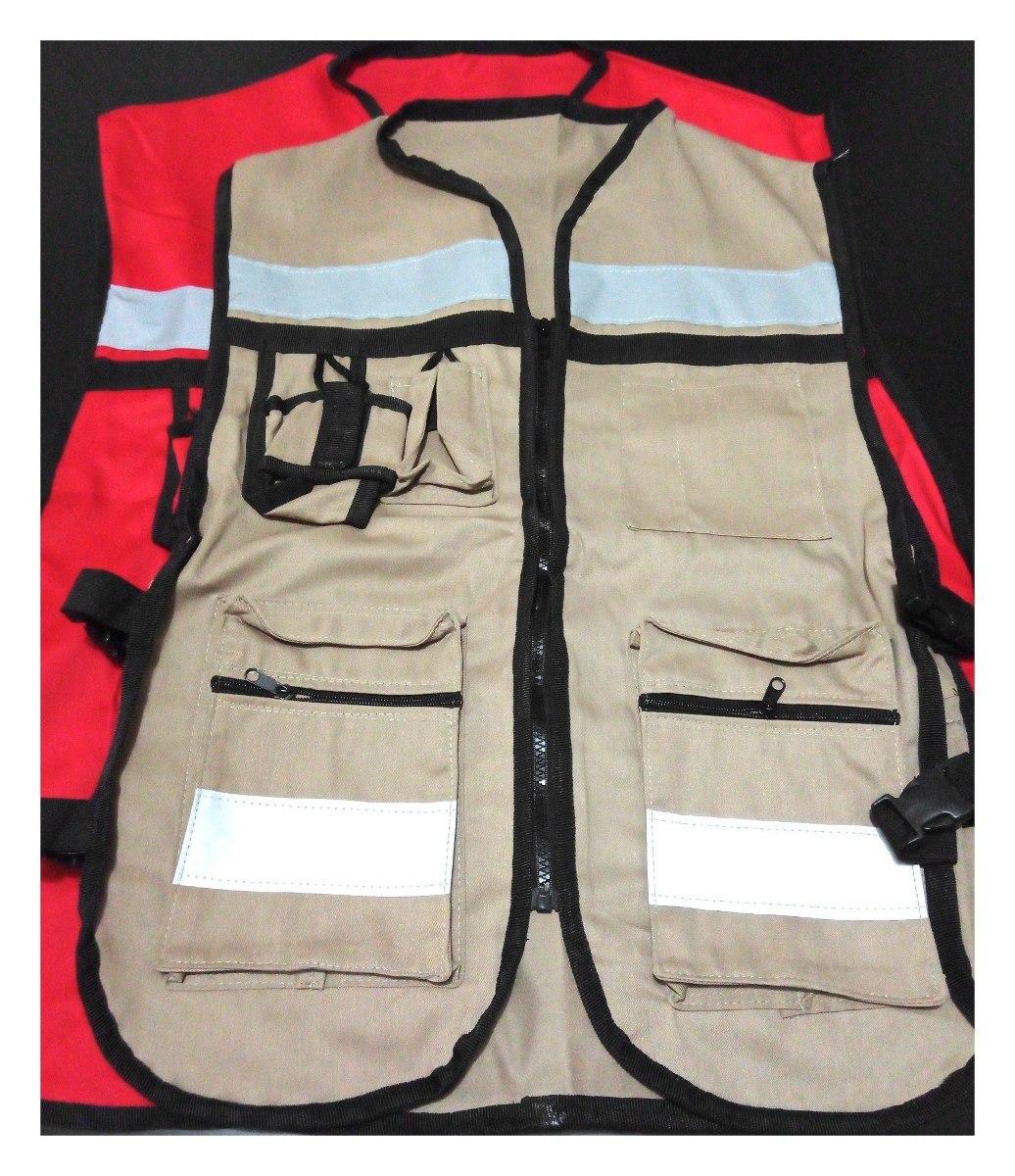Chaleco Seguridad Industrial, Brigadista,pack 4pzas Jumbo - $ 800.00 ...