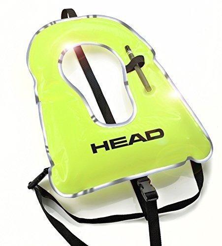 chaleco snorkel principal amarillo alto, amarillo, reflexivo