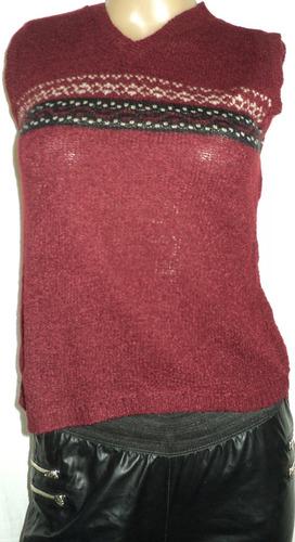 chaleco sport mujer talle s sisa 40cm largo 50cm
