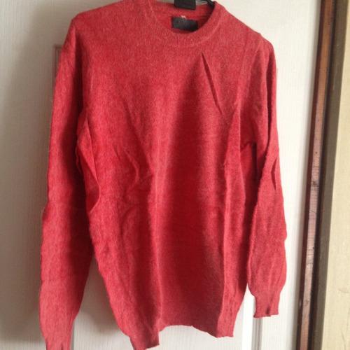 chaleco sweaters de mujer de color rojo talla m