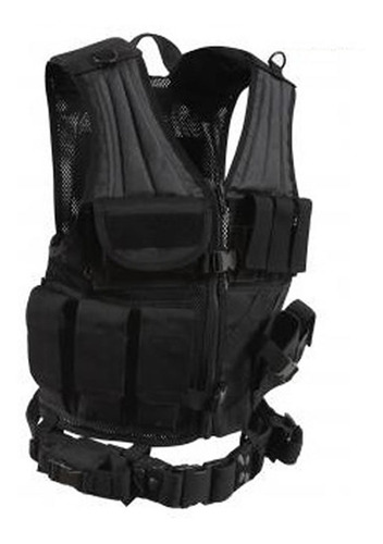 chaleco táctico policial spec ops sist. molle universal s-xl