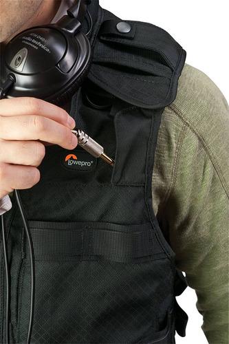 chaleco tecnico lowepro s&f para fotógrafos
