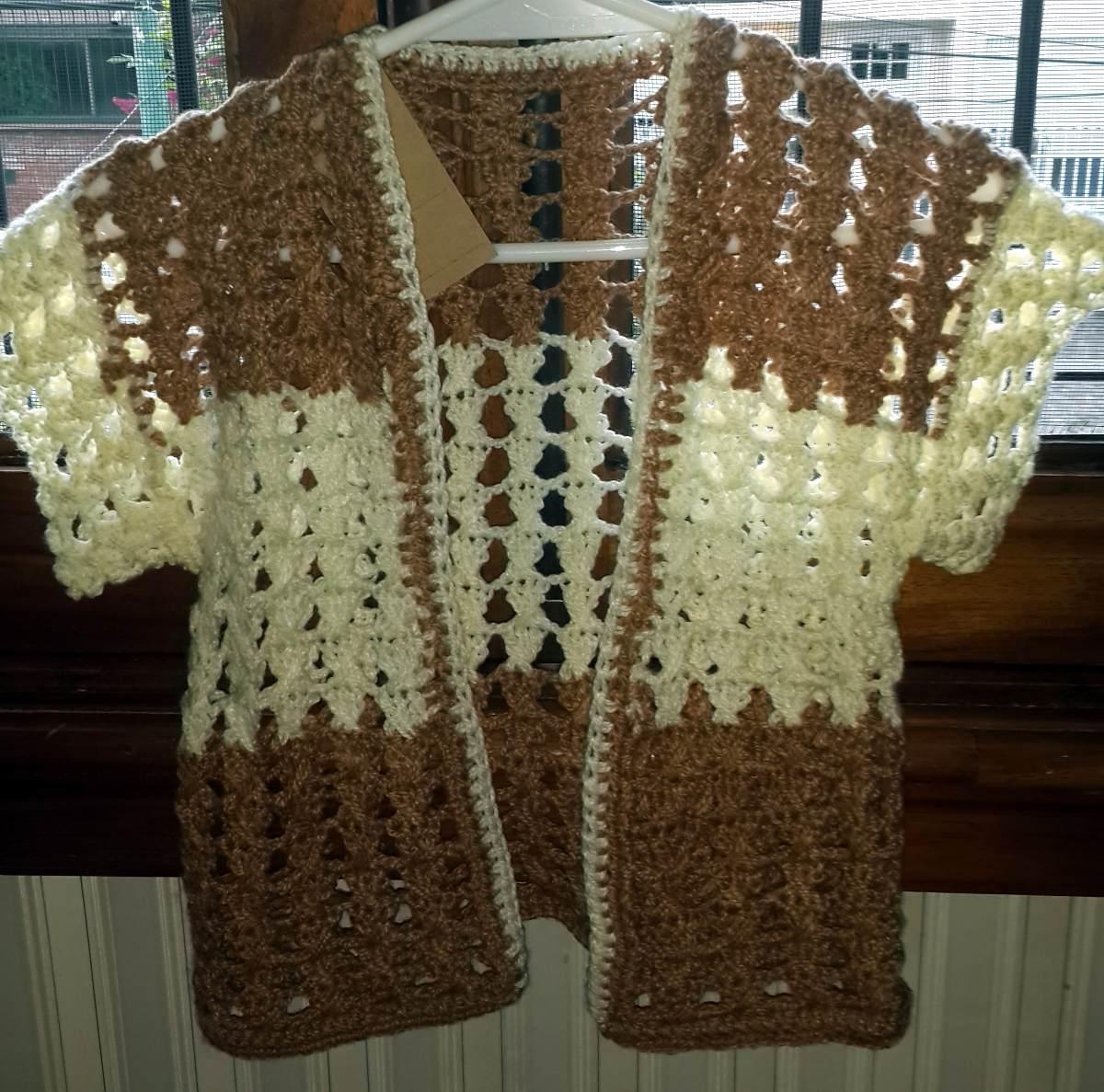 chaleco tejido al crochet. Cargando zoom. dc70d3ab5a7d