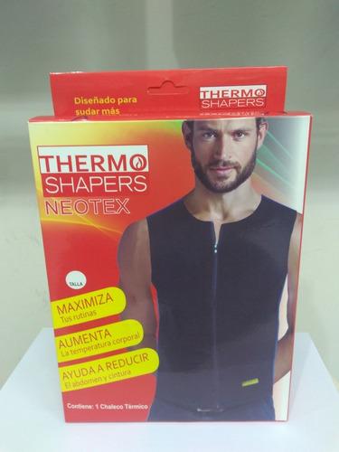 chaleco térmico varón con cierre thermo shapers