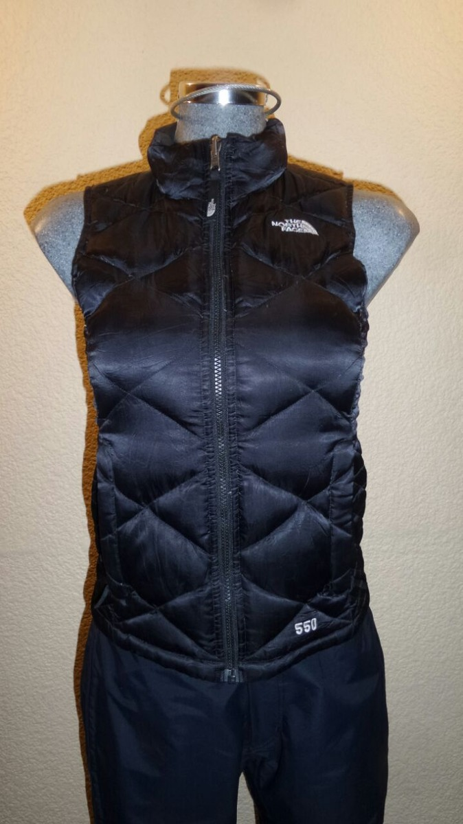 chalecos the north face plumas