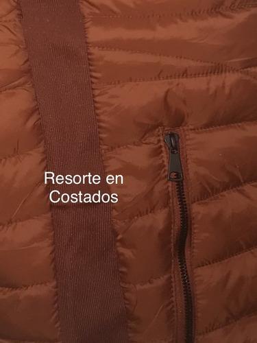 chaleco tipo uniqlo hombre 18165 pechera con capucha desmont