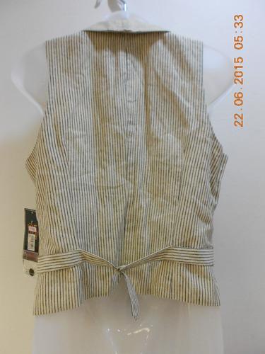 chaleco unisex, marca ralph laurent; talla m