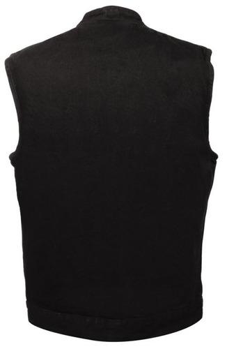 chaleco vaquero milwaukee hombre c/botón cuello camisa 4xl