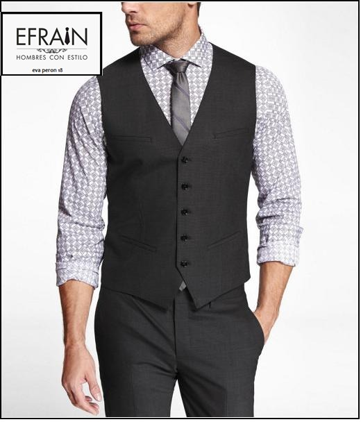 Chaleco Vestir Hombres + Pantalon Vestir Hombre + Camisa -   990 4963c4536724