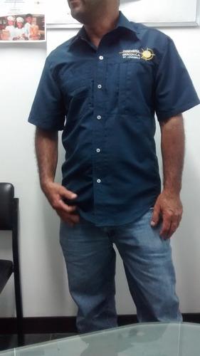 chalecos chemises camisas columbia bordados uniformes gorras