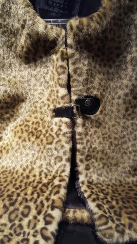 chalecos de piel ecologica importada de francia