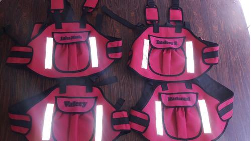 chalecos de seguridad para niños en moto