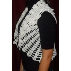 chalecos mujer tejidos hilo de verano crochet promo hot sale