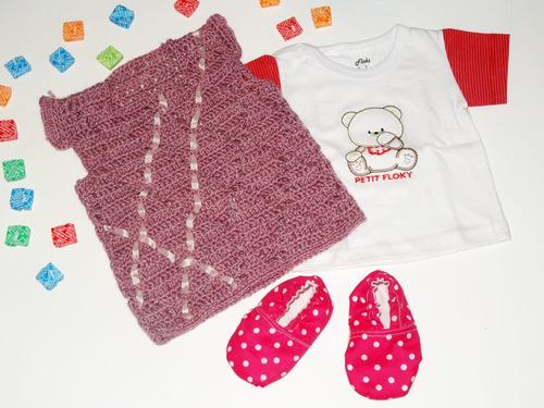 chalecos para bebé hechos a mano (0 - 12 meses) - nuevos