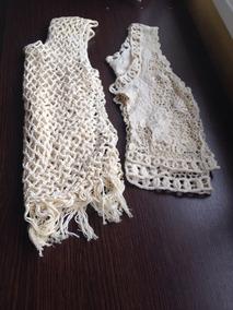 1d0f5c211 Chalecos Tejidos A Crochet Niña Talle 10