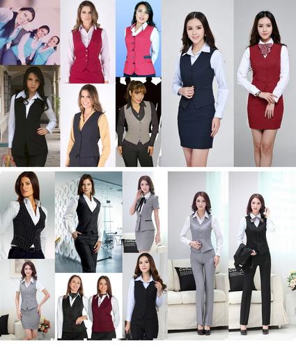 chalecos uniformes empresariales