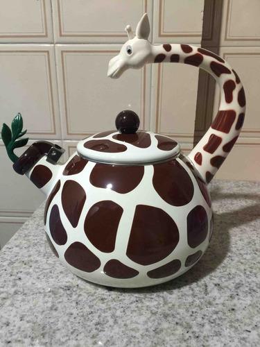 chaleira de girafa