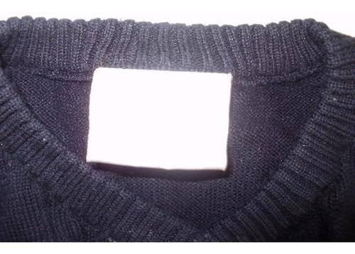 chalequito sin mangas de algodón patisserie