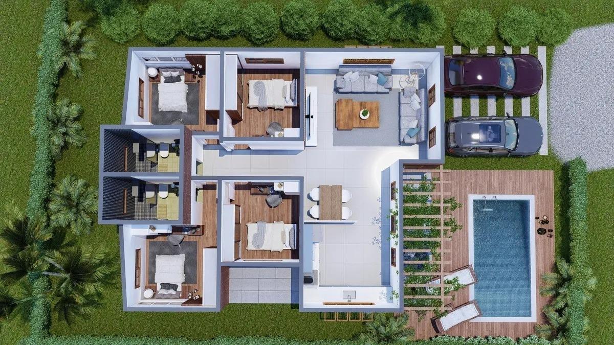 chalés aquashow com 2,3,4 dormitórios