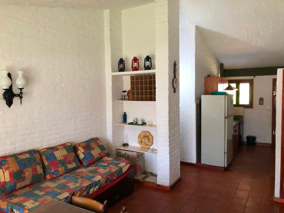 chalet 2 dormit, ampl comed, jardín, parrilla, coch.cub.wifi