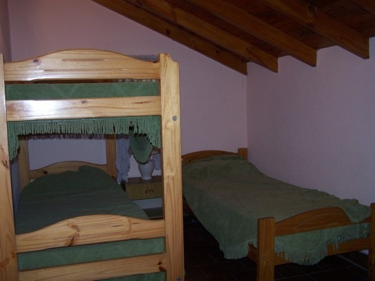 chalet  3 ambientes - alquiler (6 personas)