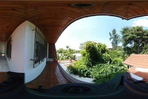 chalet 3 ambientes, pileta, parque. mte. grande