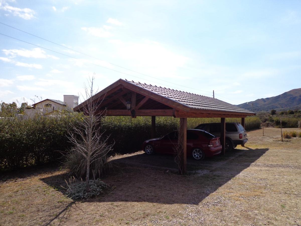 chalet 4 dorm c/ gran terreno y piscina,villa giardino,cba.