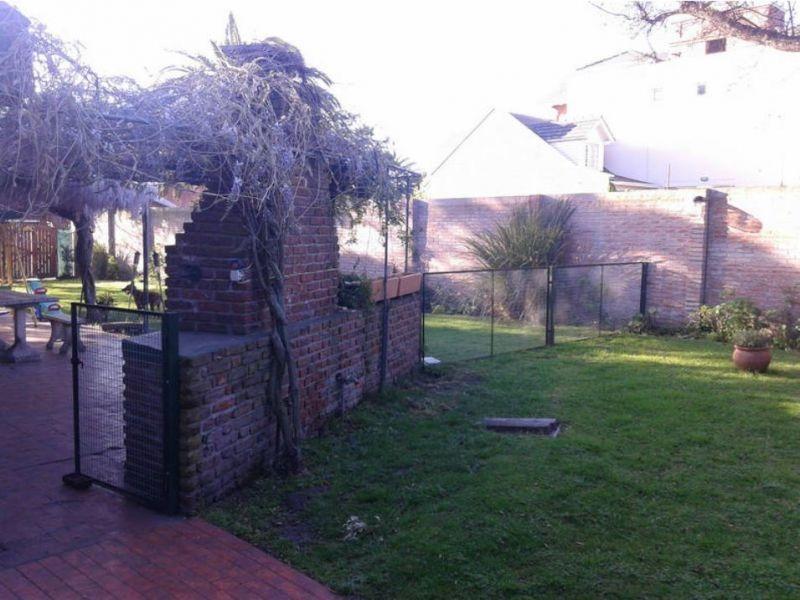 chalet apto crédito 6 amb. con jardín y garage doble