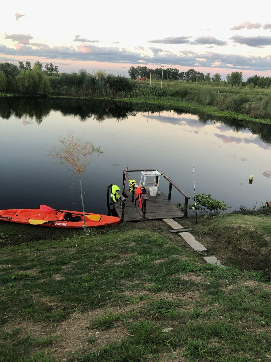 chalet nuevo ideal pesca o deporte náutico - 150km caba