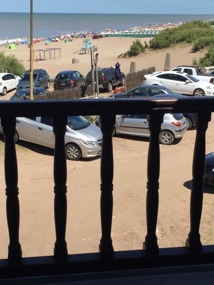 chalet, pinamar - 6 personas - frente al mar