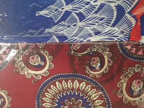 chalinas pashminas estampadas pareo colores mayoreo $30 c/u