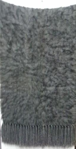 chal.pie de cama o sillon.100%lana de llama.