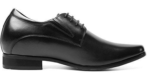 chamaripa zapatillas de elevador para hombre oxford altura 1