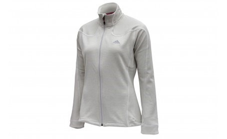 chamarra adidas-hiking fleece mujer- unica- talla xs