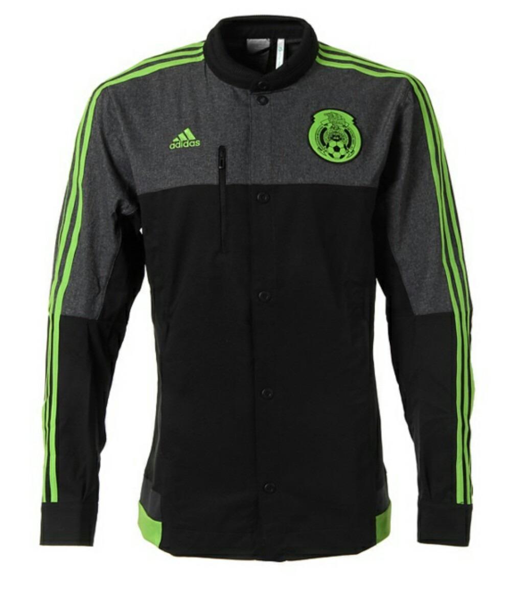 Chamarra adidas Selección De México Anthem. -   920.00 en Mercado Libre b70d473fc15dc