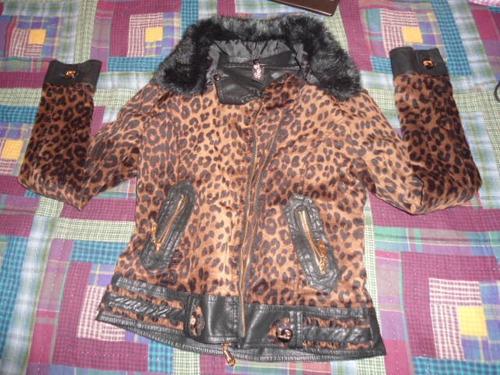chamarra animal print talla ch importada moda japonesa