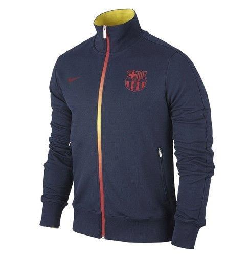 5d48148b3ae10 Chamarra Barcelona Nike N98 Authentic Futbol Real Madrid ...