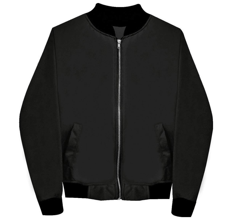 fff0d93308de7 Chamarra Bomber Jacket Negra Envío Gratis Hombre -   380.00 en ...