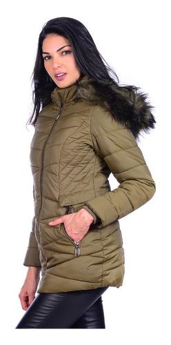 chamarra cazadora para mujer capricho collection 19005