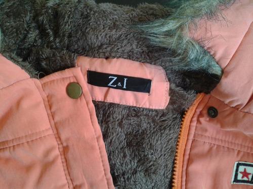 chamarra chaqueta abrigo cazadora con gorra y envio inmediat