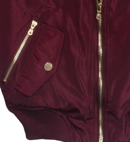 chamarra dama bomber mod. cbf1901 - coca bella fashion