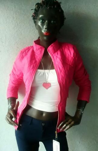 chamarra de dama jh color rosa 2